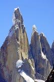 Flèches dramatiques dans les Andes Images libres de droits