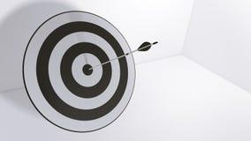 flèches et boudine du rendu 3d illustration libre de droits