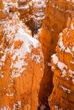 Flèches profondes de Crevass Bryce Canyon National Park Rock Photos libres de droits