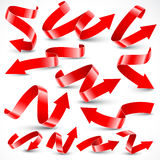 Flèches rouges illustration stock