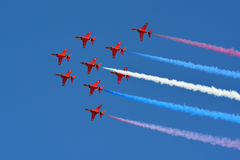 Flèches rouges Photo libre de droits