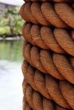 Fléau avec la corde Photographie stock libre de droits