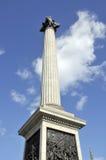 Fléau de Nelsonâs dans le grand dos de Trafalgar image libre de droits