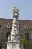 Fléau de trinité sainte à Budapest, Hongrie photo libre de droits