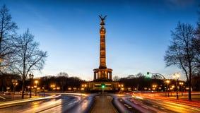 Fléau de victoire à Berlin, Allemagne Photo libre de droits
