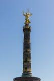 Fléau de victoire (Siegesäule) à Berlin Image libre de droits