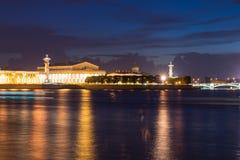 Fléau Rostral à St Petersburg image stock