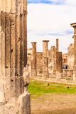 Fléaux à Pompeii photo libre de droits