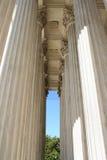 Fléaux de court suprême Photo stock