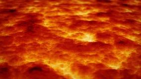 Flöda för lava lager videofilmer