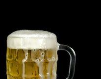 Flödande över öl rånar in Arkivfoto