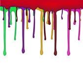 Flödande färgdesign Arkivbilder