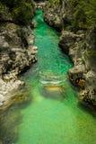 flödande flod Royaltyfri Fotografi
