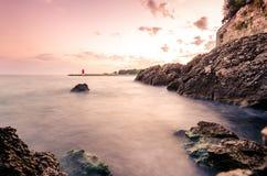 Flödande hav Royaltyfria Bilder