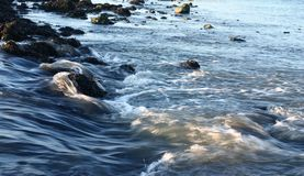 flödande vatten Royaltyfria Foton