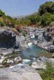 flödande vatten Royaltyfria Bilder