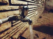 flödande vatten Royaltyfri Fotografi