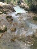 flödande vattenfall Royaltyfri Fotografi