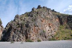 Flöde de Pareis klyfta, Majorca Fotografering för Bildbyråer