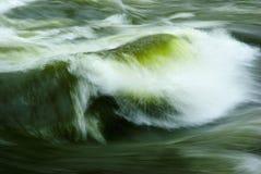 flödesflod Arkivbild