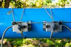 Flödesmeter Arkivfoto