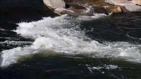 flödesnaturthailand vatten stock video