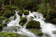 flödesvatten Royaltyfri Fotografi