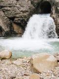 flödesvatten Arkivbilder