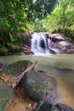 Flödet av vattenfallet Royaltyfri Bild