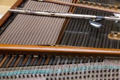 Flöjt och cymbal Arkivfoton
