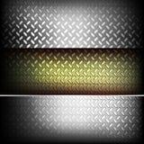 flöjtlik metalltextur royaltyfri illustrationer