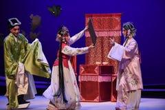 """Flörta - västra Chamber†för Kunqu opera""""the  Royaltyfria Bilder"""