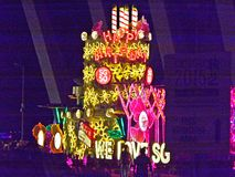 Flöte för födelsedagkaka Royaltyfri Foto