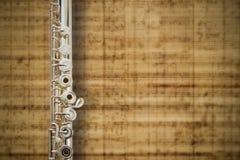 Flöte-Mitten-Verbindung Stockfoto