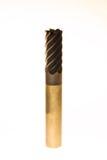 Flötenkarbid des Schaftfräsers sechs beschichtet Lizenzfreie Stockbilder