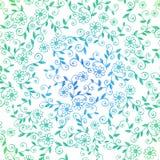 Flüchtige Gekritzel-Rebe-nahtloses Wiederholungs-Muster Stockfotos