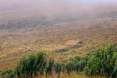 Flüchtling nahe Pichincha-Vulkan, Südamerika Stockfotografie