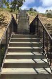 Flüge der Treppe Stockfotos