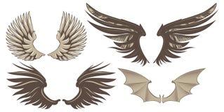 Flügel lizenzfreie abbildung