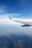 Flügel auf dem Himmel stockfoto