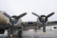 Flügel B-17 Stockfotos