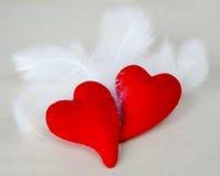 Flügel der Liebe Stockfotografie