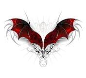 Flügel des Drachen stock abbildung