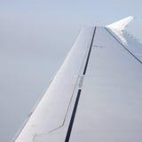 Flügel eines airoplane Stockfotografie