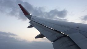 Flügel im Himmel 1 stock footage