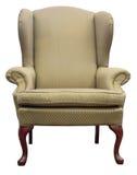 Flügel-Stuhl der Königin-Anne Stockfotos