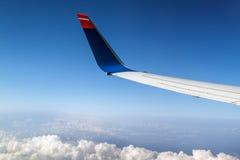 Flügelflugzeuge Stockfoto