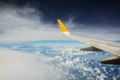 Flügelflugzeuge, Wolke Lizenzfreie Stockfotos