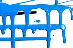 Flüsse der blauen Farbe stockfotos