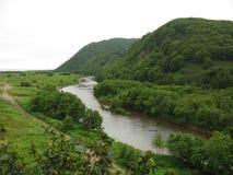 Flüsse in Kamchatka Stockbilder